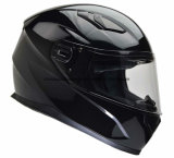 Solid ABS Double Visor Full Face Motorcycle Helmet with ECE&DOT