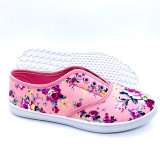 Fashion Cheap Lady Flat Shoes Casual Shoes Canvas Shoes Sneakers (FF1810-15)