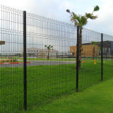 Cheap PVC Coated Fence Wire Mesh Bridge Fence