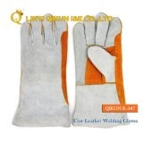 K-347 Full Cow Leather Working Safety Labor Protect Industrial Welding Gloves