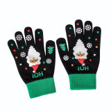 Christmas Wool Knitting Touch Screen Gloves Outdoor Warm Hand Winter Gloves