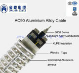 AC90 Aluminum Alloy Conductor Interlocked Armoured Cable