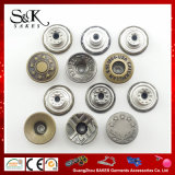 Wholesale Classical Garment Accessories Jeans Button Metal Shank Button