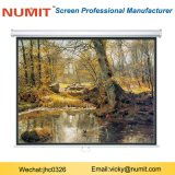 "Manual Pull Down Projection Screen 150"" Projector"