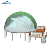 Green Outdoor Sport Event with High Quality Steel and PVC Material for Camping and Holiday