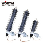 3kv - 36kv Polymeric Metal Oxide Surge Arrester for Distribution
