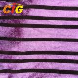 100% Polyester Velvet Upholstery Fabric for Sofa / Car / Furniture / Chair