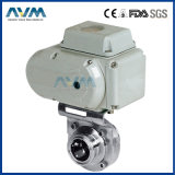 Stainless Steel Sanitary Hygienic Pneumatic Actuator Ball&Check&Butterfly Valve