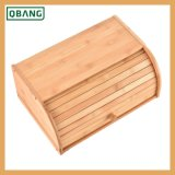 Natural Competitive Price Bamboo Bread Box