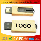 Creative Business Practical Push Pull 8g High Speed Bamboo and Wood USB Flash Drive