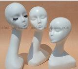 Custom Plastic Window Display Head Wig Dummy Mannequin