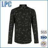 Urban Casual Vintage Wholesale Printing Brand Men Shirt