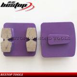 Metal Bond Concrete Terrazo Floor Trapezoid Diamond Grinding Plate
