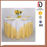 High Quality Washable Durable Hotel Polyester Banquet Table Cloths Br-Tc040