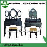 MDF Make-up Vanity Set with Stool (W-HY-020)