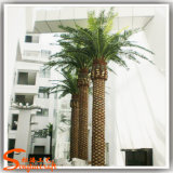 Outdoor Decoration Steel Artificial Fake Plastic Fake Palm Trees Cheap