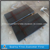 Natural Absolute China Black Granite Floor and Paving Tiles