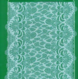 Scalloped Jacquard Stretch Lace (with oeko-tex standard 100 certification)