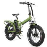 48V 500W 20*4.0 Fat Folding Tire Electric Bicycle E-Bike