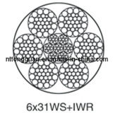 Special-Purpose Steel Wire Rope 6X31ws+Iwr