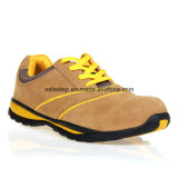 Suede Leather Sport Model Composite Toe Safety Shoes Italy