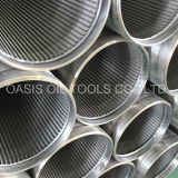 Duplex 2205 Stainless Steel Johnson Wire Wrapped Filter Screens
