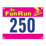 Custom Logo Design Printed Tyvek Race Number