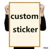 Custom Cheap Waterproof Die-Cut / Kiss Cut PVC Vinyl Logo Sticker