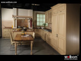 Welbom European Style White Solid Wood Kitchen Cabinet