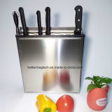 "Stainless Steel Wall Mounted Knife Rack 12"" - Hanging Knife Block"