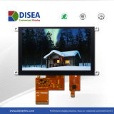5.0 Inch TFT LCD Module with Capacitive Touch Panel 800X480 RGB 24bit 480CD/M2