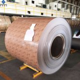 Wholesale Color Painting Wooden Grain Aluminum Coil for Construction Material