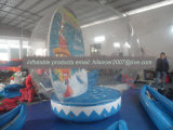 Shopping Mall Advertising 3m 4m 5m 6m Artificial Snow Inflatable Snow Globe