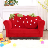Curved Strawberry Kids Sofa Chair Baby Furniture (SF-169)