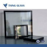6+9A+6 High Quality Low-E Insulated and Reasonable Price Green Glass