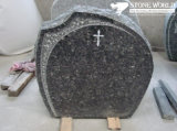 Granite Stone Monument / Tombstone with Custom Design - Tt15