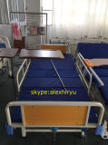 Cheap Price 2 Crank Manual Hospital Bed