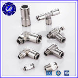 Pneumatic Connector Stainless Steel Push in Fittings Festo Pneumatic Air Fittings
