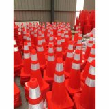PVC Traffic Equipment Barricade Cone Barrier Orange Reflective Traffic Cone