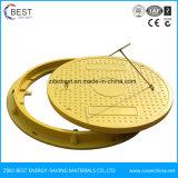 En124 A100 Waterproof Anti-Fall Net Fiberglass BMC Manhole Cover