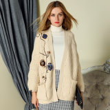 2018 New Style Ladies Fashion Cardigan Sweater for Spring/Autumn