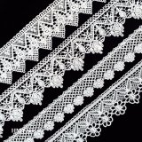 Lace Trim, Mesh Trim, Embroidery Knit Border Trim L183
