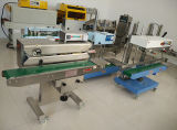 Continuous Band Sealer for Vertical Big Packing Bags with Oxygen and Nitrogen Gas Filling Flush and Adjustable Sealing Height
