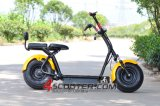 2016 Popular Harley Scrooser Style Electric Scooter with Big Wheels, Fashion City Scooter