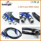 Wholesale 3 Pin DMX Controller 1.2m Length DMX Cable