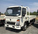 HOWO Light Truck 4X2 102PS 14FT 4t Cargo Truck Mini Truck