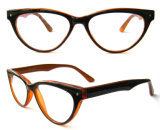 Acetate Color Cat Eye Cheap Cp Injection Price Eyeglasses