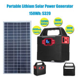 30W Solar Panel Portable Solar Energy Generator Lithium Battery Charger for Home