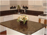 Prefab Baltic Bwown Quartz/Granite/Marble/Slate/Granite Stone Countertop for Kitchen/Bathroom/Cabinet/Island/Hotel