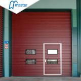 Automatic Security Insulated Steel Side Sliding Sectional Industrial Garage Door